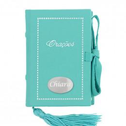 Livro de Oração Azul Turquesa